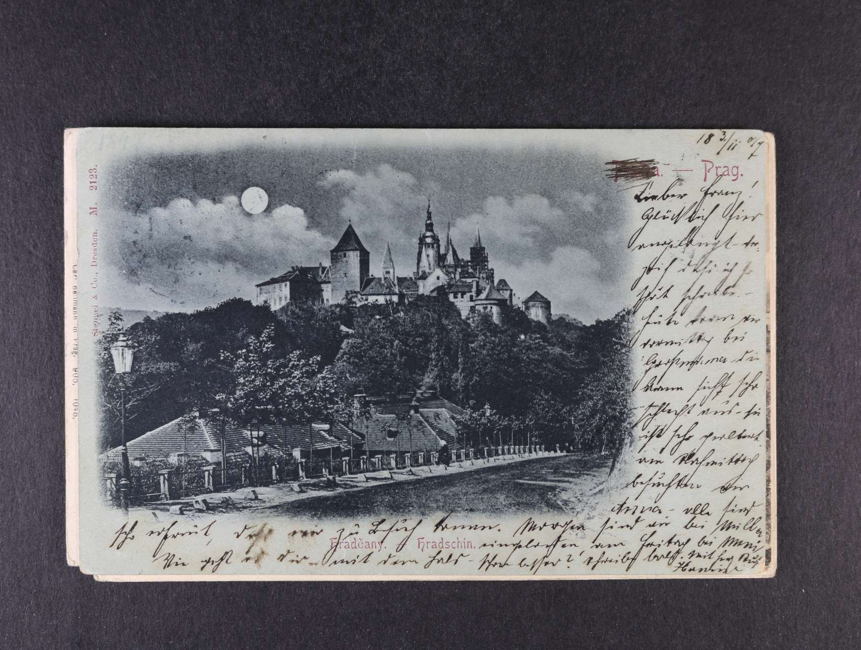 a892ef156b Praha - sestava 6 ks litograf. pohlednic z let 1897-1912