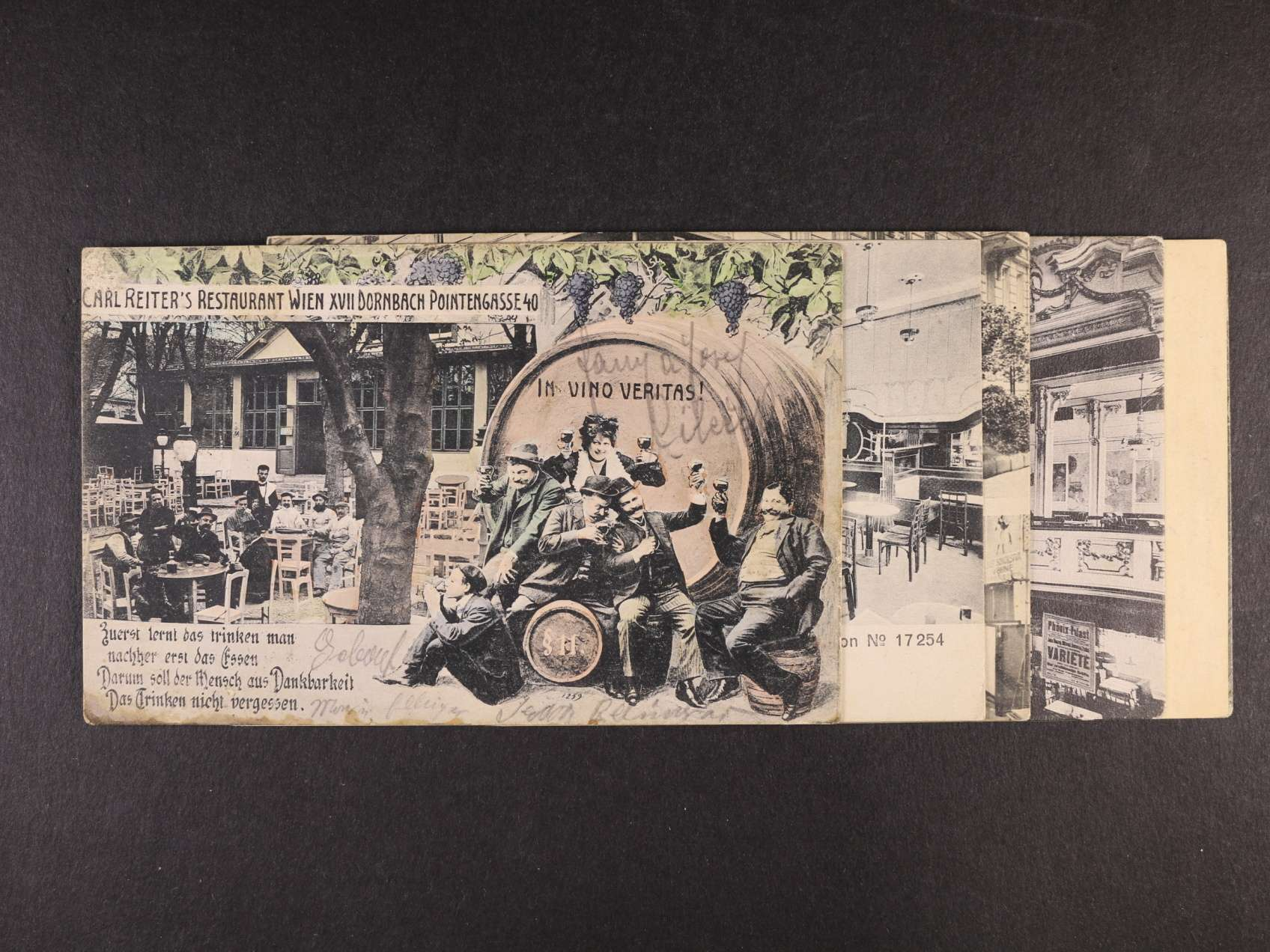 33b13046fc Vídeň - sestava 6 ks pohlednic restaurací a kaváren