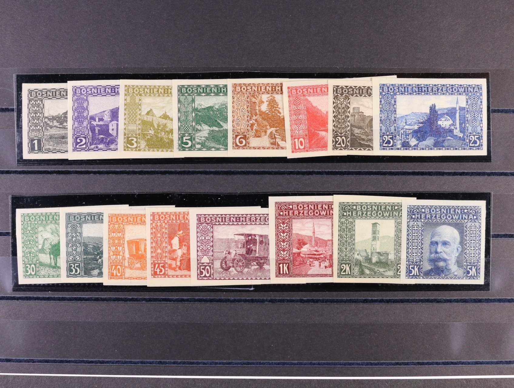 emise 1906 - kompl. svěží nezoubkovaná série, slušné střihy, 300 EUR
