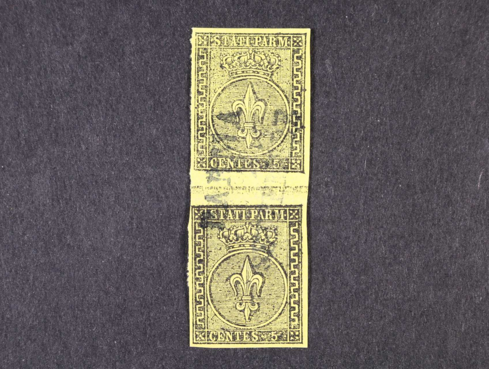 Parma - zn. Sas. č. 1 - svislé meziarší, zk. Sorani, 8000 EUR
