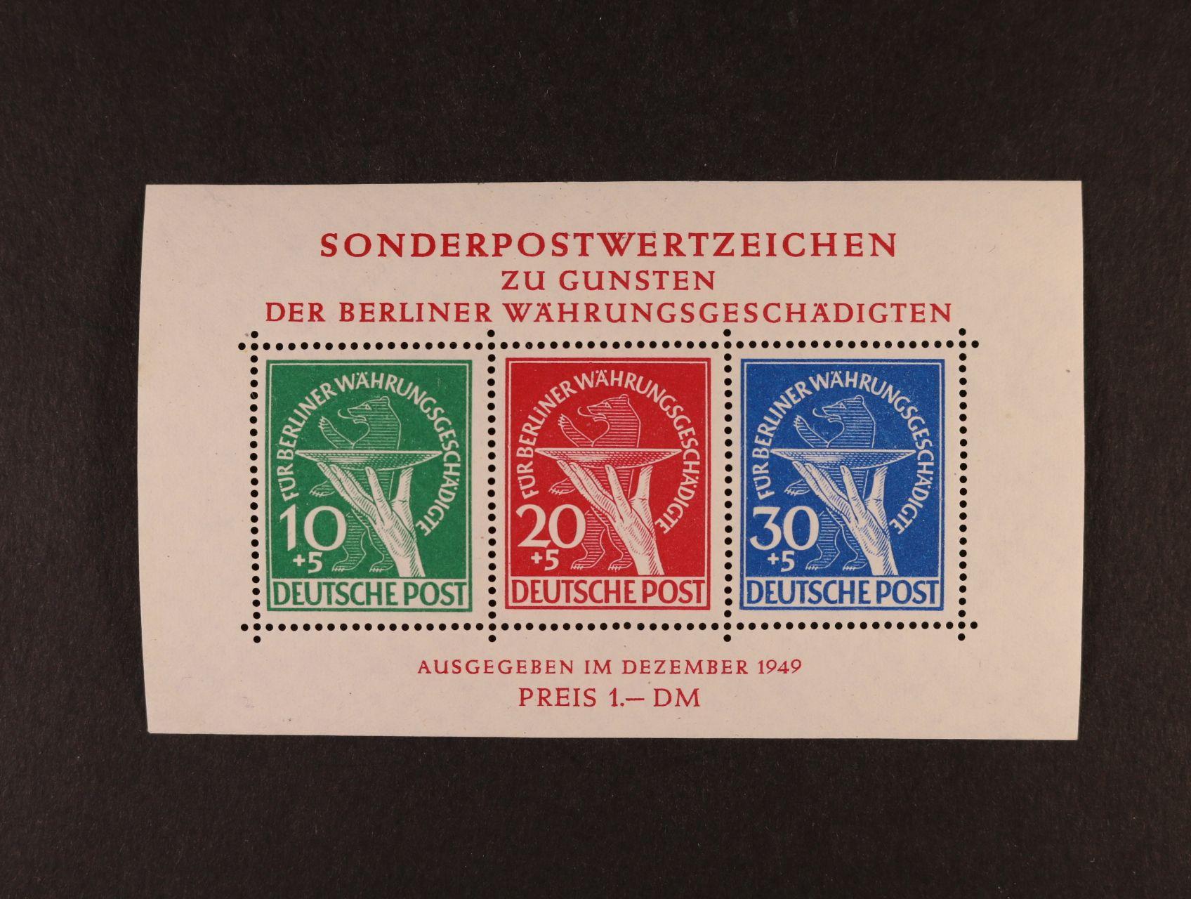 Bl. Mi. 1, 1100 EUR