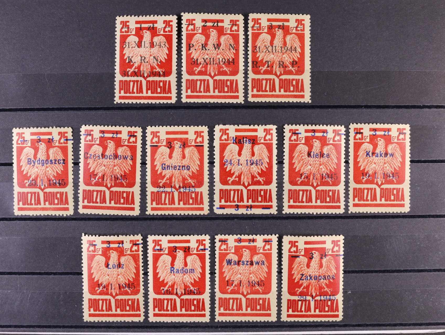 zn. Mi. č. 386 - 8, 390/I-X, 110 EUR
