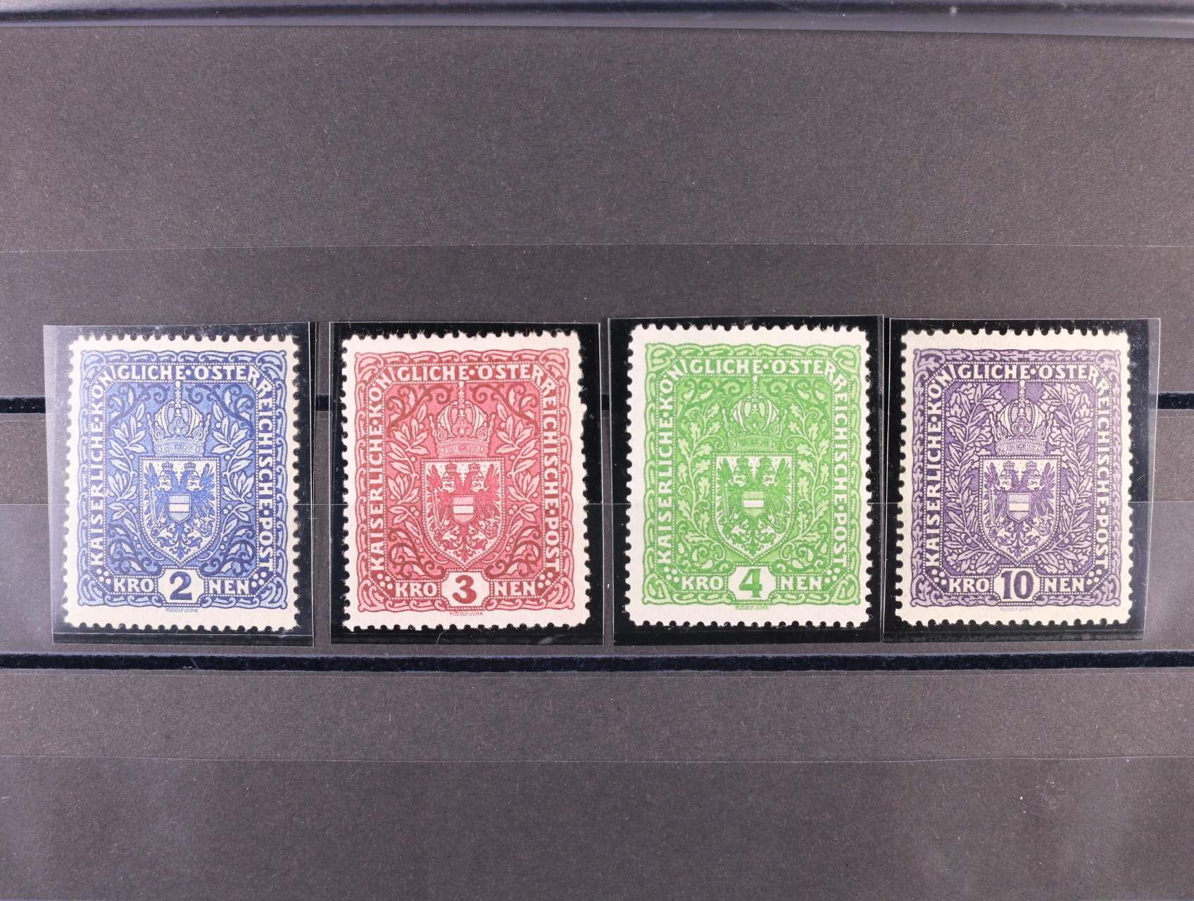 zn. Mi. č. 200 I, 201 I, 203 I tmavá jasný tisk, 206 I, 212 EUR