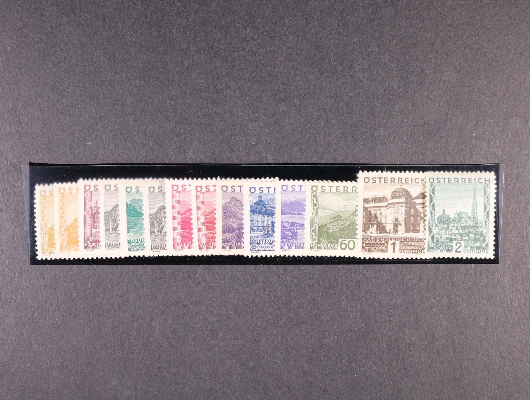 zn. Mi. č. 498 - 511 Krajinky velký formát, kompl. série, 1000 EUR