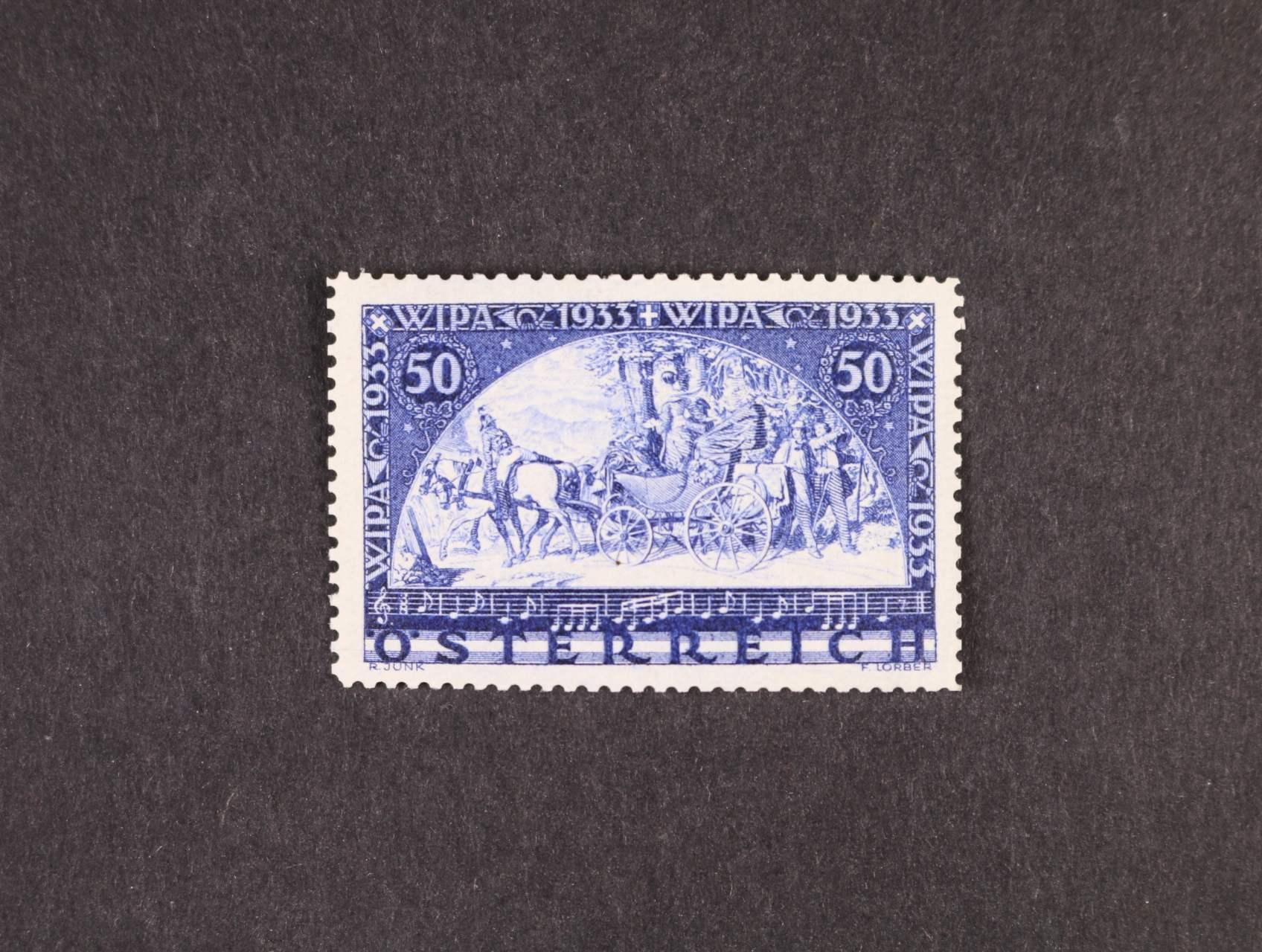 zn. Mi. č. 555 A WIPA - obyč. papír, 320 EUR
