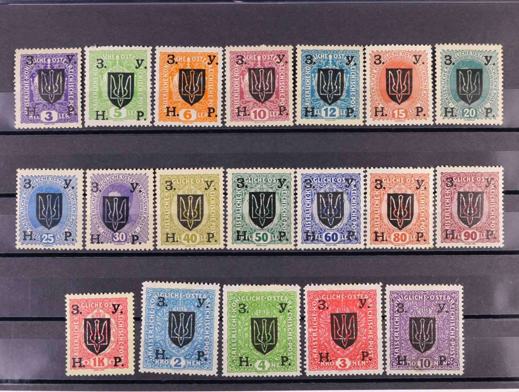 Západní Ukraina - zn. Mi. č. 84 - 102