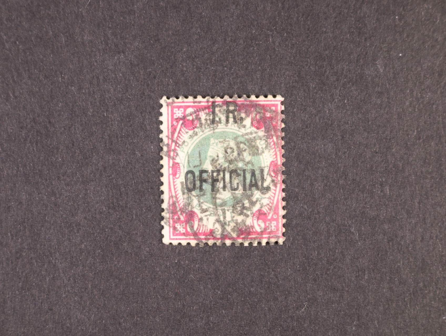 zn. SG č. 19, atest B.P.A. Expertising Limited London England, kat. cena 1800 Liber