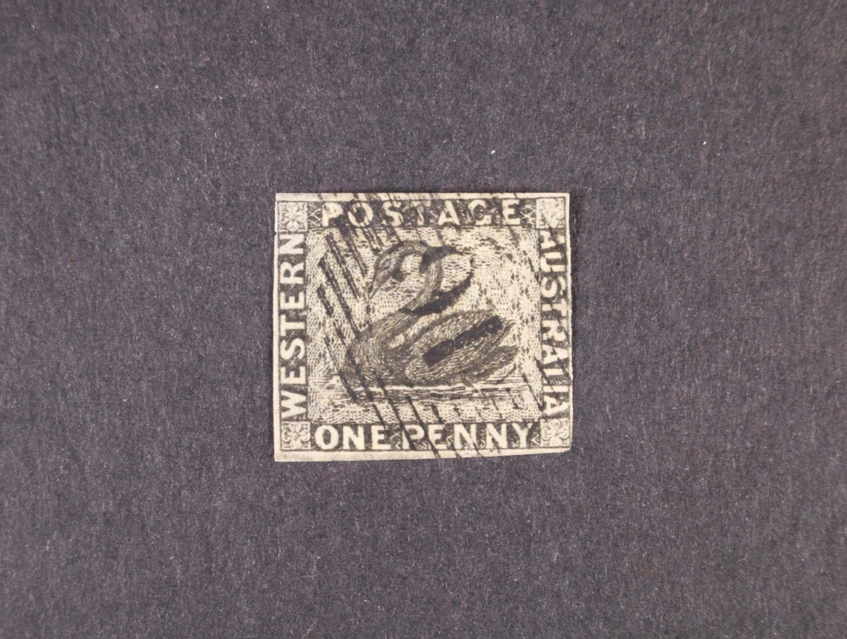 Austrálie - West - zn. SG č. 1, 275 Liber