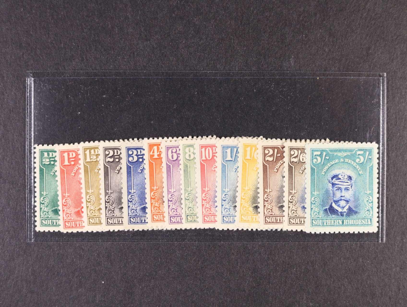 Jižní Rhodesia - zn. Mi. č. 1 - 14, 300 EUR