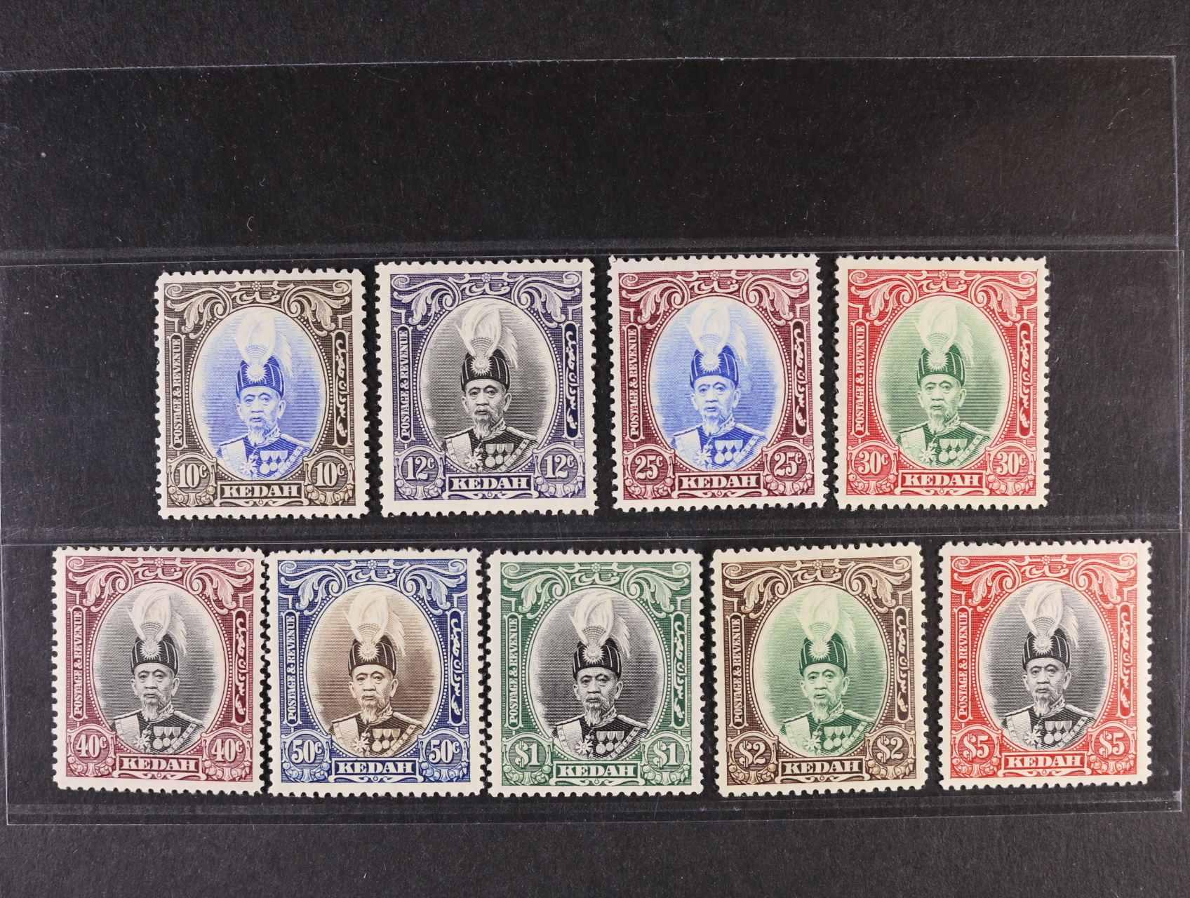 Kedah - zn. SG č. 60 - 68, 275 Liber