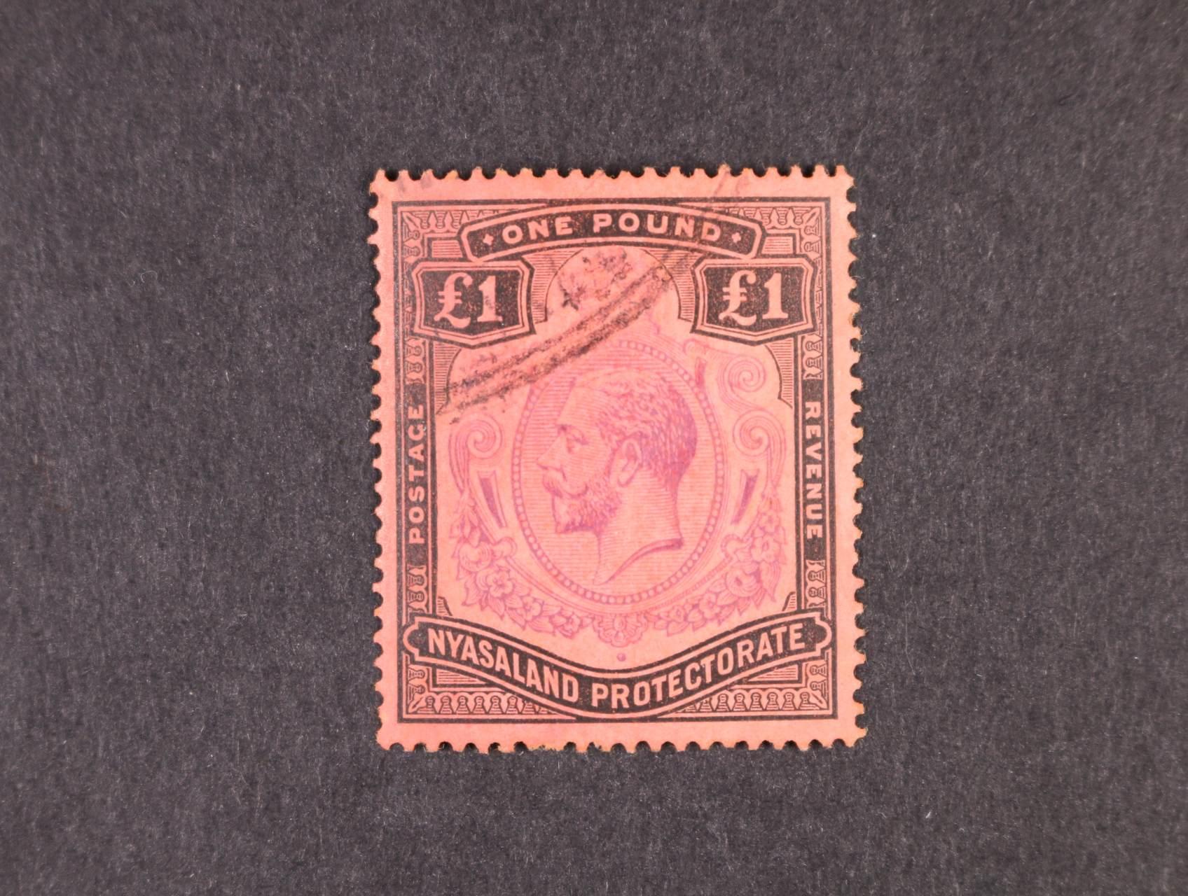 Nyasaland Protectorate - zn. Mi. č. 22, 220 EUR