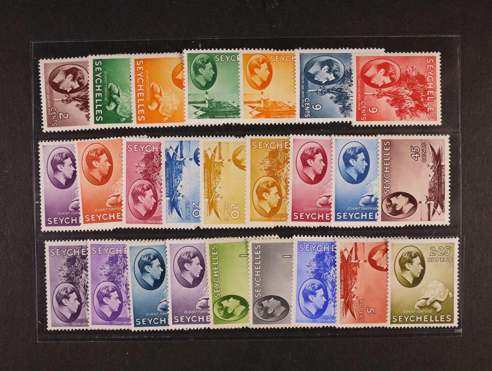 Seychelles - zn. SG č. 135 - 49, 550 Liber