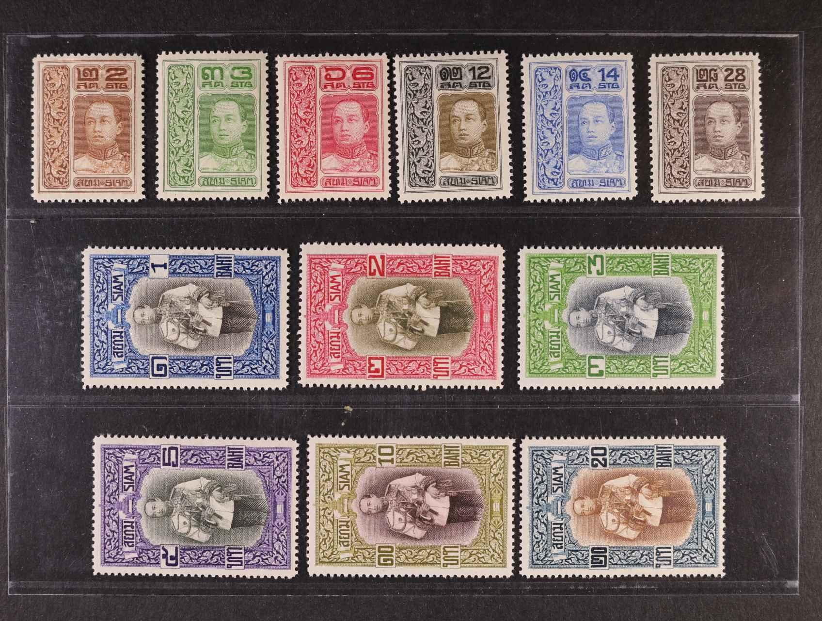Siam - zn. Mi. š. 100 - 111, 1700 EUR