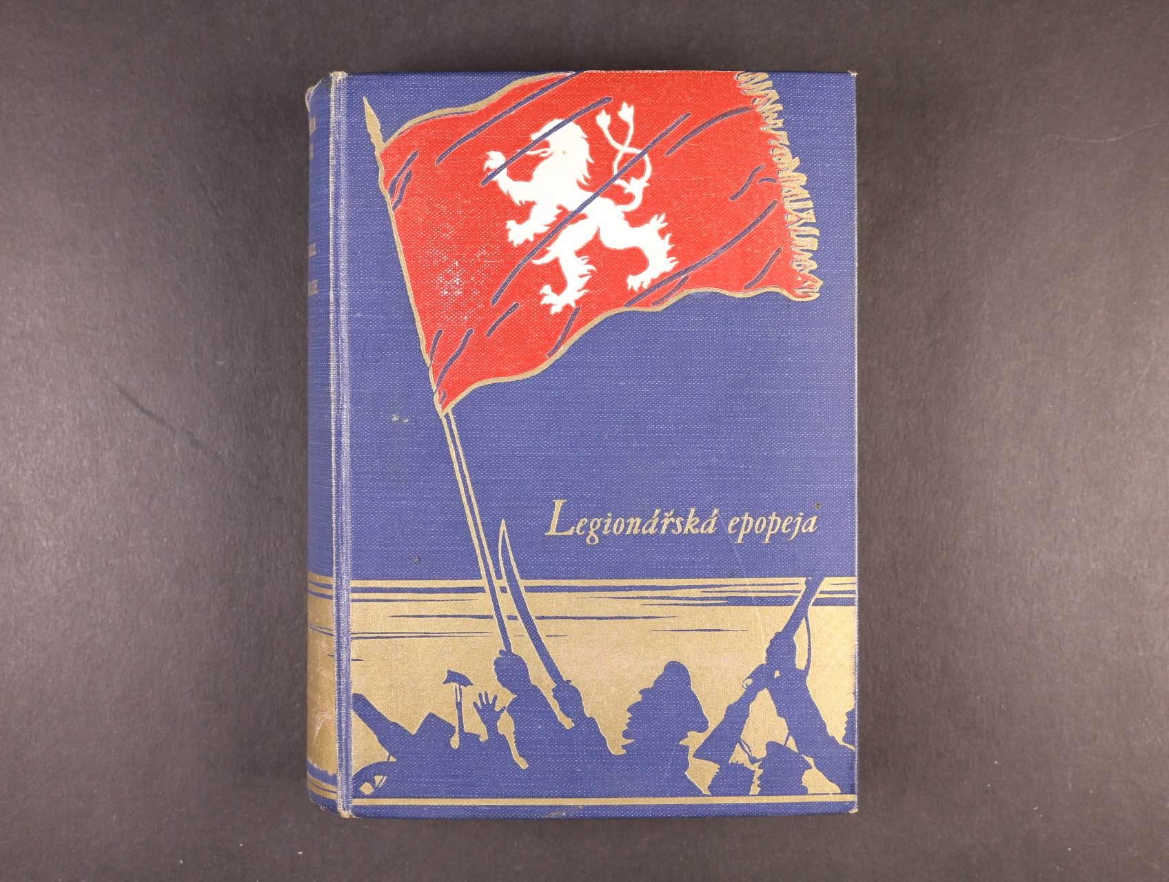 Medek Rudolf 1890 - 1940, armádní generál, prozaik a spisovatel - vlastnoručně podepsaný román z války