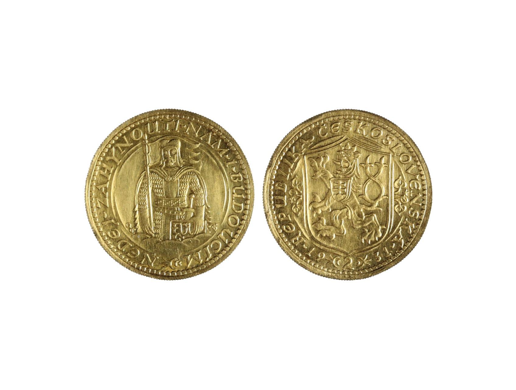 Československo 1918-1939 - 2 Dukát 1931, 6.982 g, 986/1000, raženo 2994 ks, N17