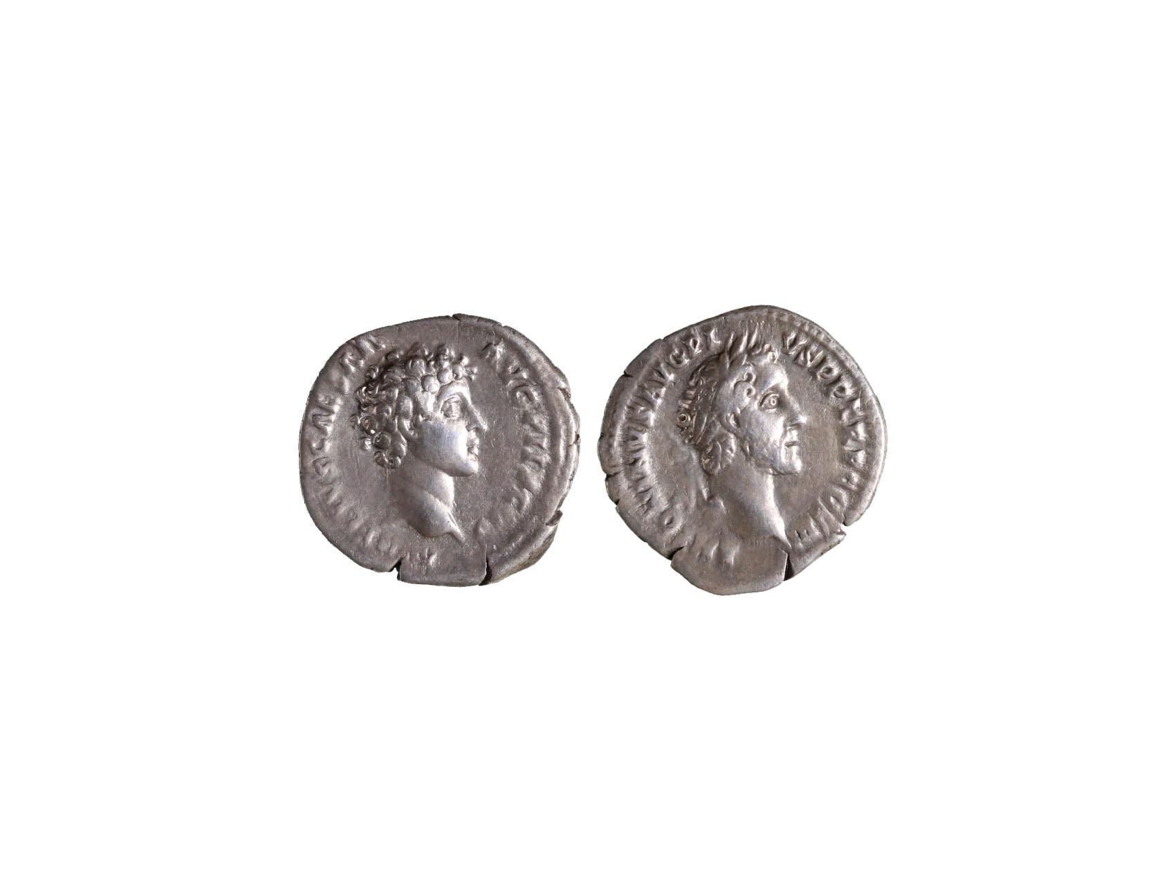 Řím císařství, Antoninus Pius pod Markem Aureliem 138-161 n.l. - Denár