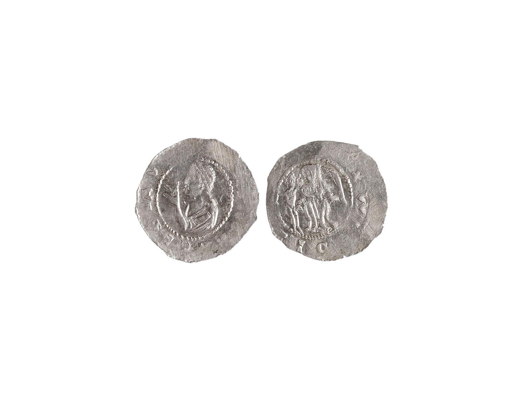 Vladislav I. 1109 -1125 - Denár, Cach 556, opis nedor.