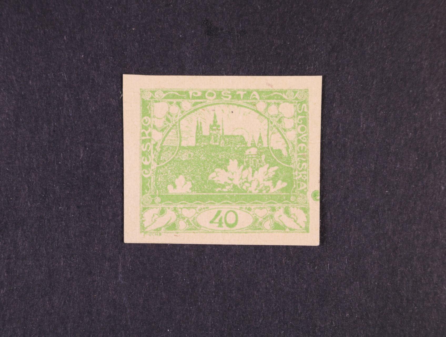 ZT zn. č. 14 v barvě zelené, zk. Gilbert