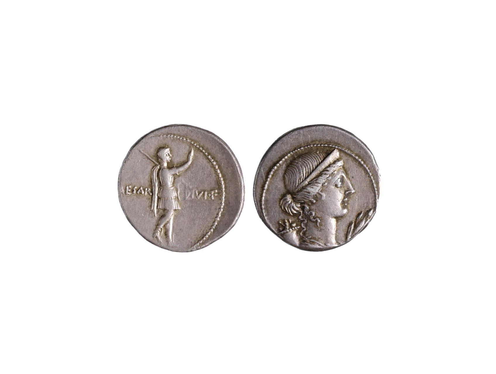 Řím císařství, Octavian Augustus 27př.n.l.-14 n.l. - Denár, Ric I. 253