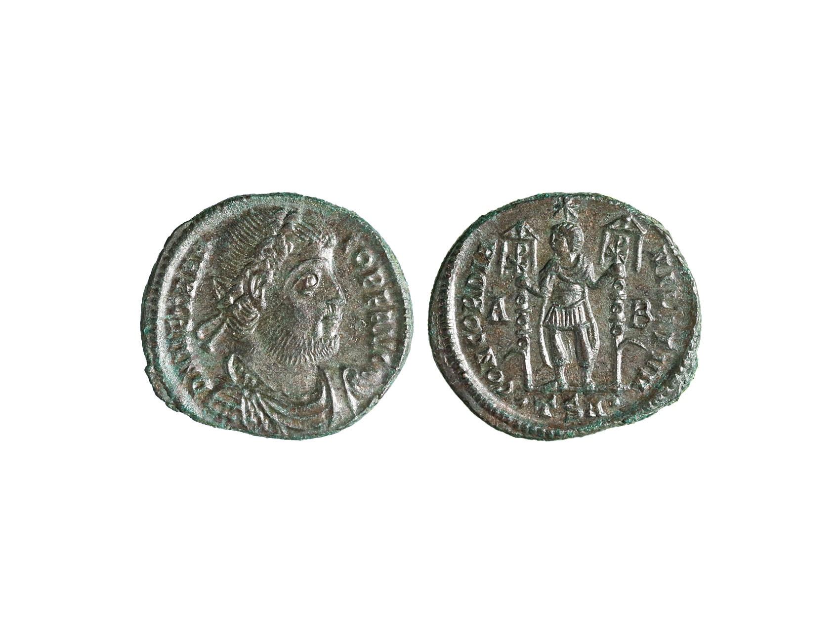 Řím císařství, Vitellius 350 n.l. - AE Maiorina