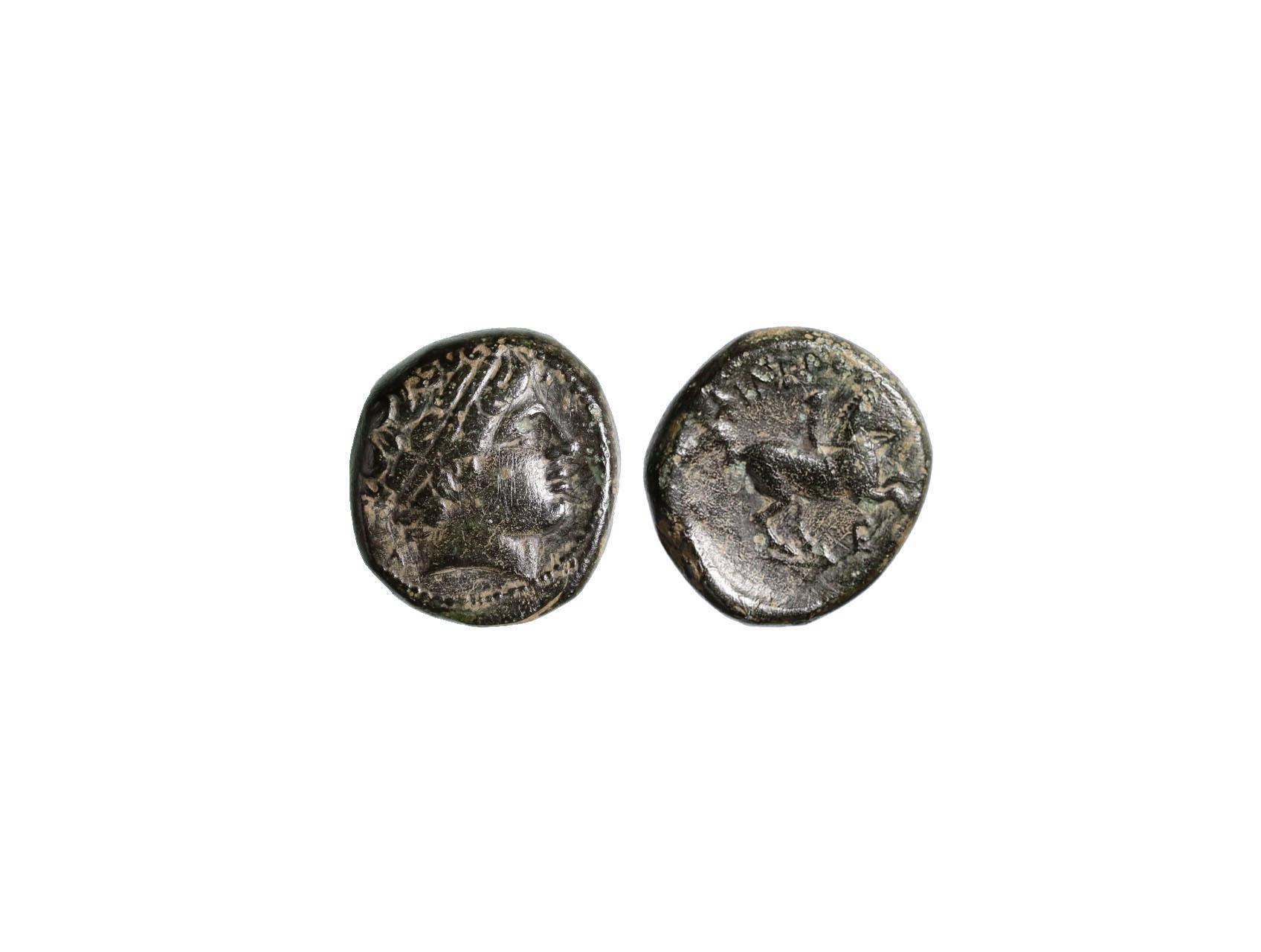 Řím císařství, Filip II. Makedonský 382 - 336 př. nl., AE 18