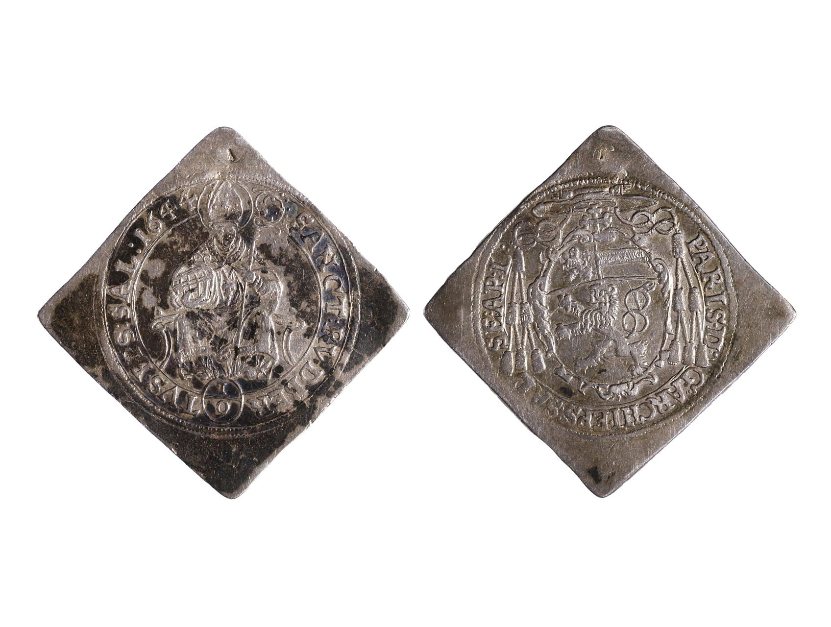 Salzburg - arcibiskupství, Paris Lodron, 1619 - 1653 - 1/4 Tolar 1644