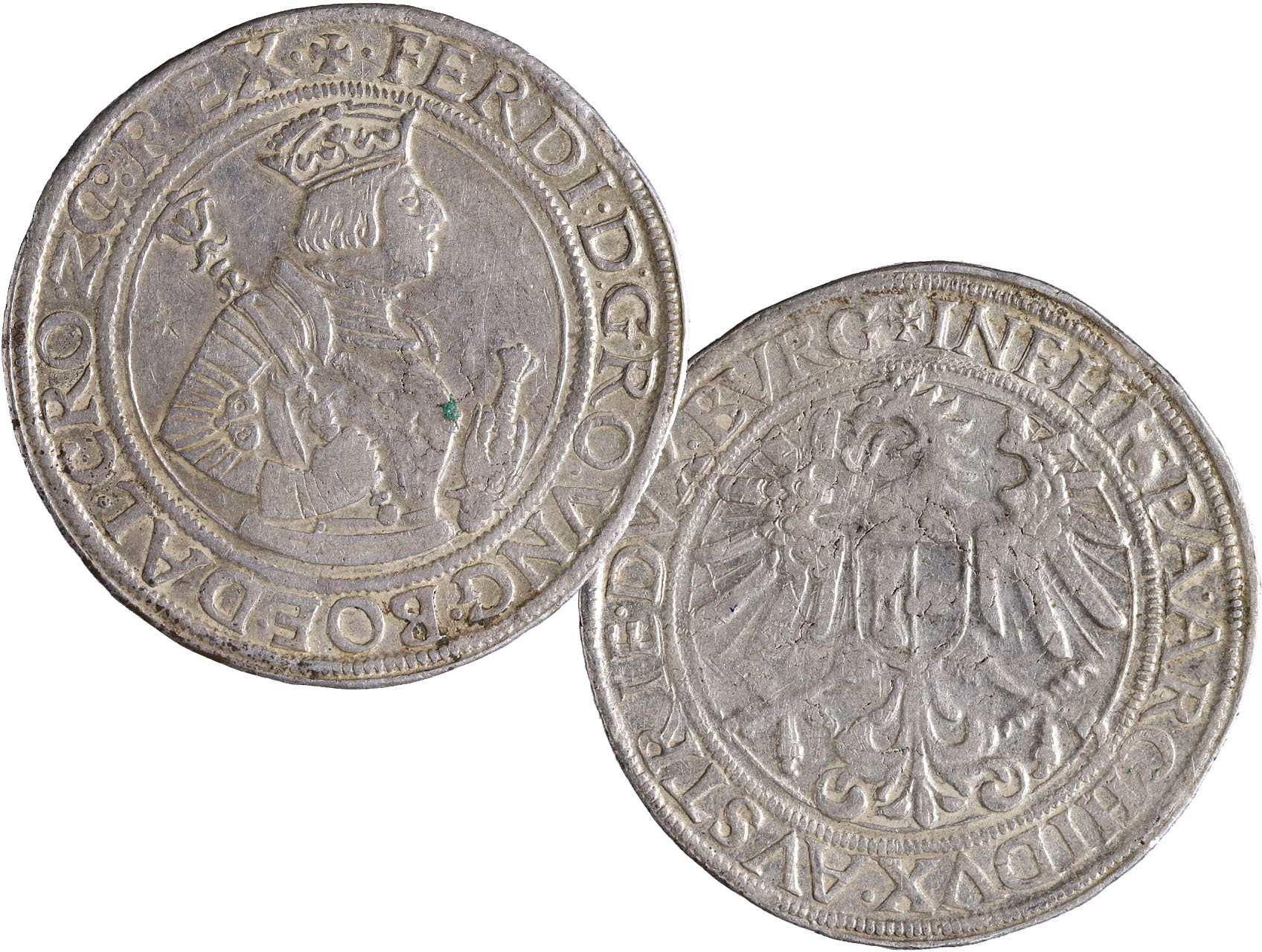 Ferdinand I. 1521-1564 - Tolar b.l. Hall