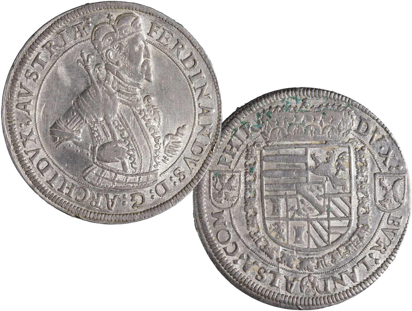 Arcivévoda Ferdinand Tyrolský 1564 - 1595 - Tolar, Hall