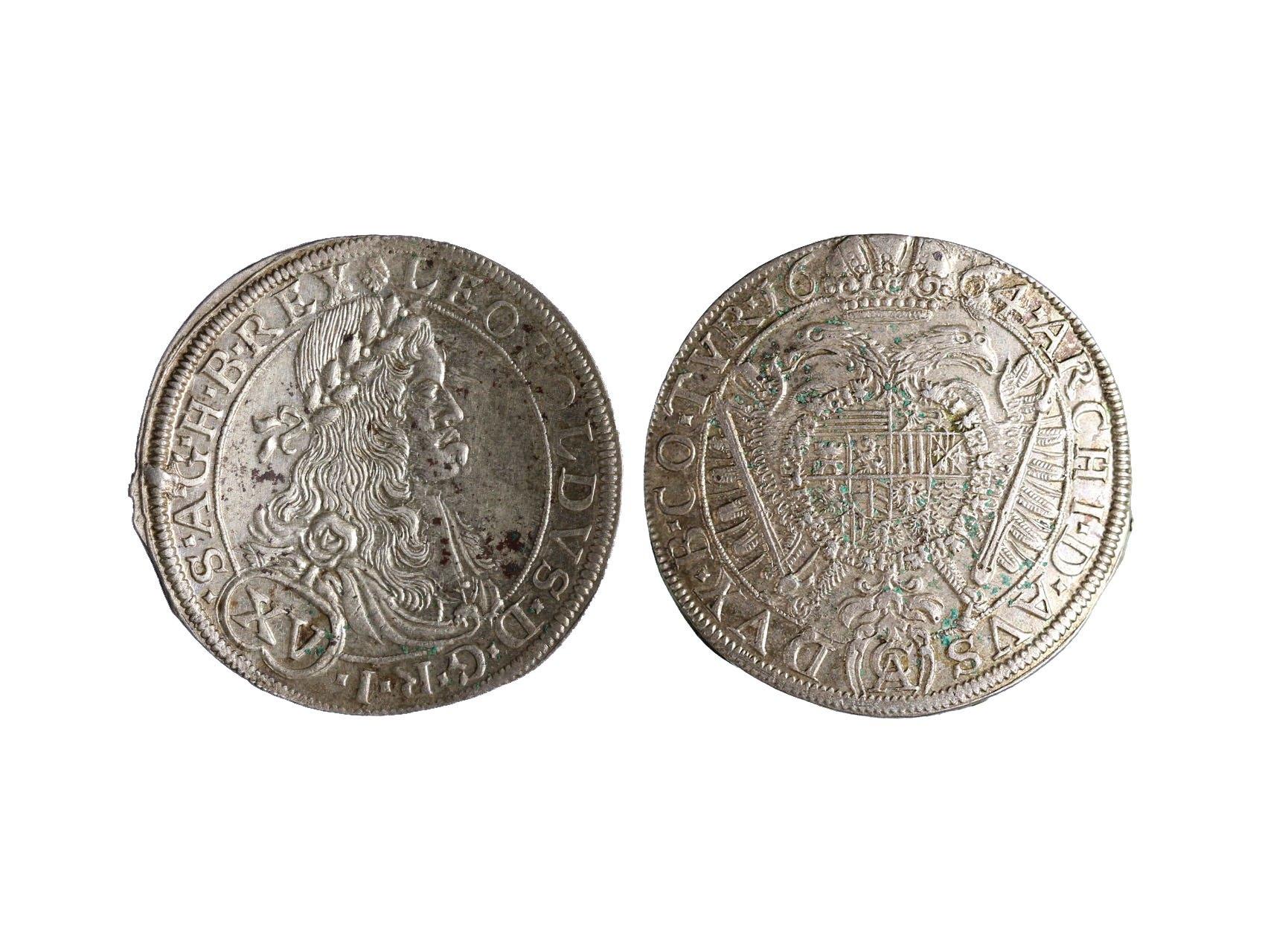Leopold I. 1657-1705 - XV. Krejcar 1664 Wien