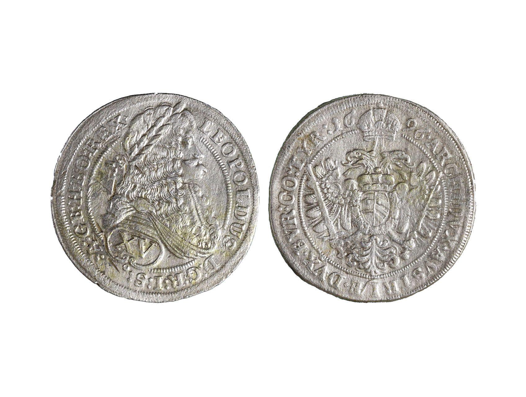 Leopold I. 1657-1705 - XV. Krejcar 1696
