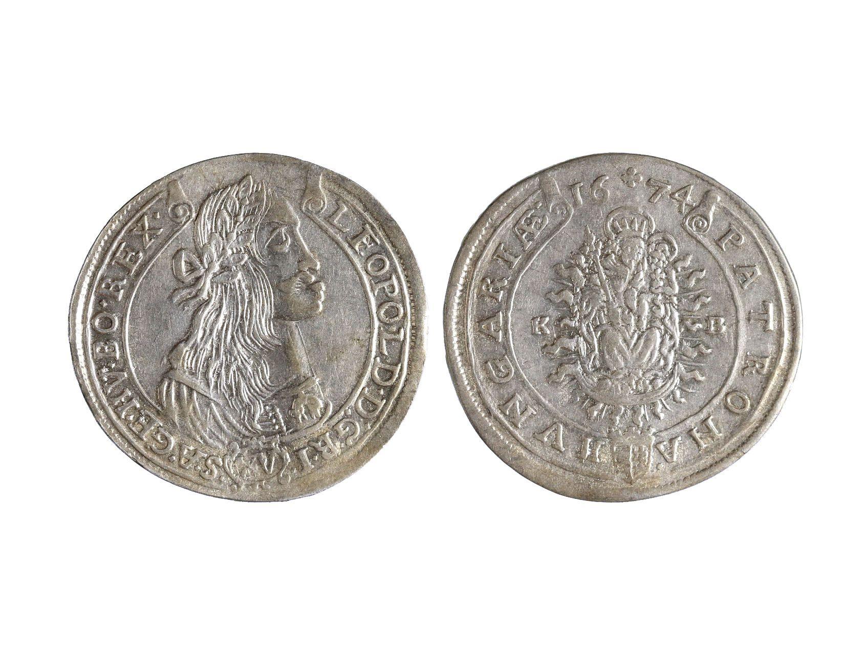 Leopold I. 1657-1705 - XV. Krejcar 1674 KB