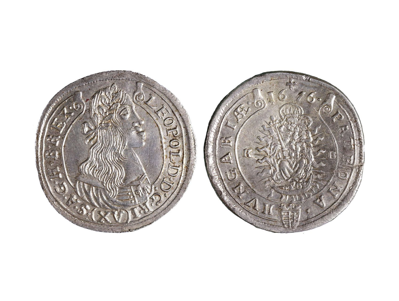 Leopold I. 1657-1705 - XV. Krejcar 1676 KB