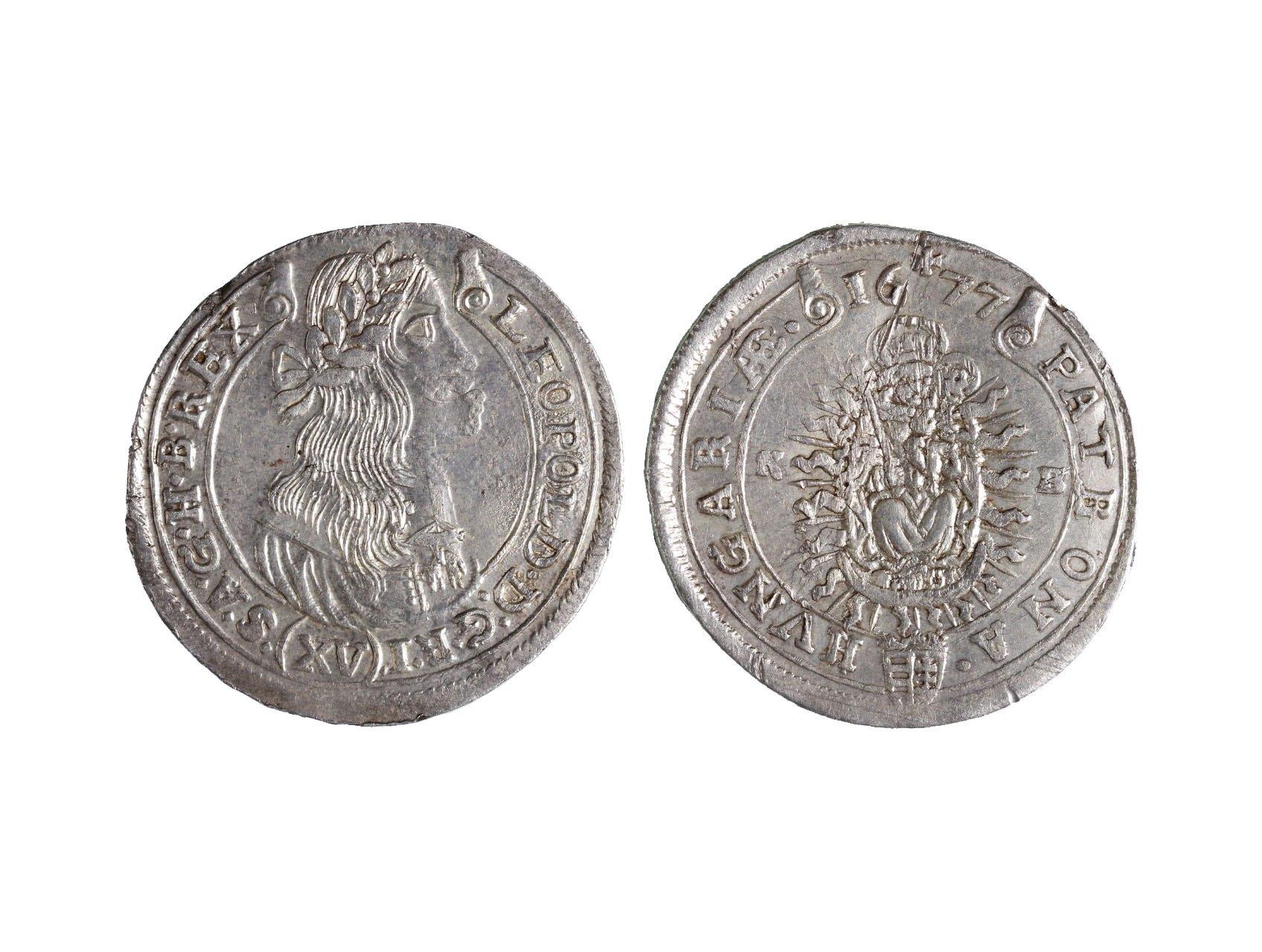 Leopold I. 1657-1705 - XV. Krejcar 1677 KB