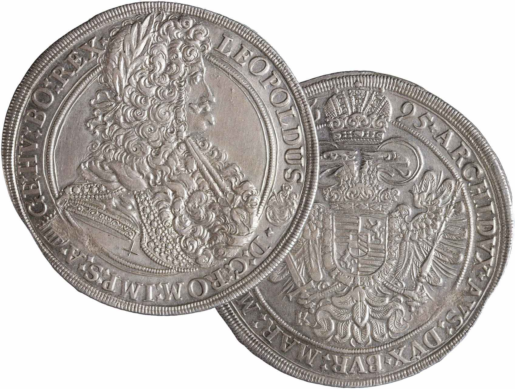 Leopold I. 1657-1711 - Tolar 1695 KB Kremnice