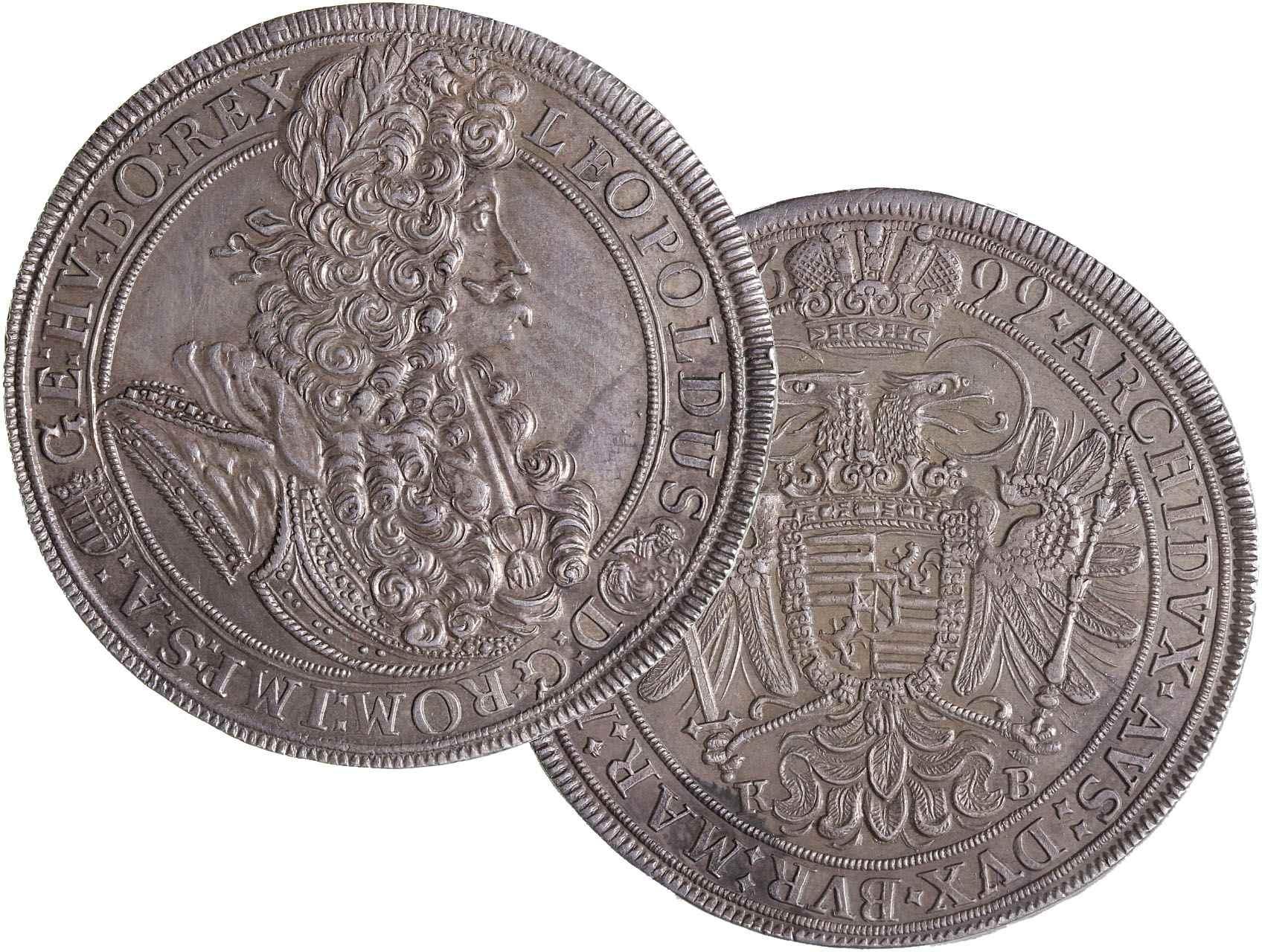 Leopold I. 1657-1711 - Tolar 1699 KB Kremnice