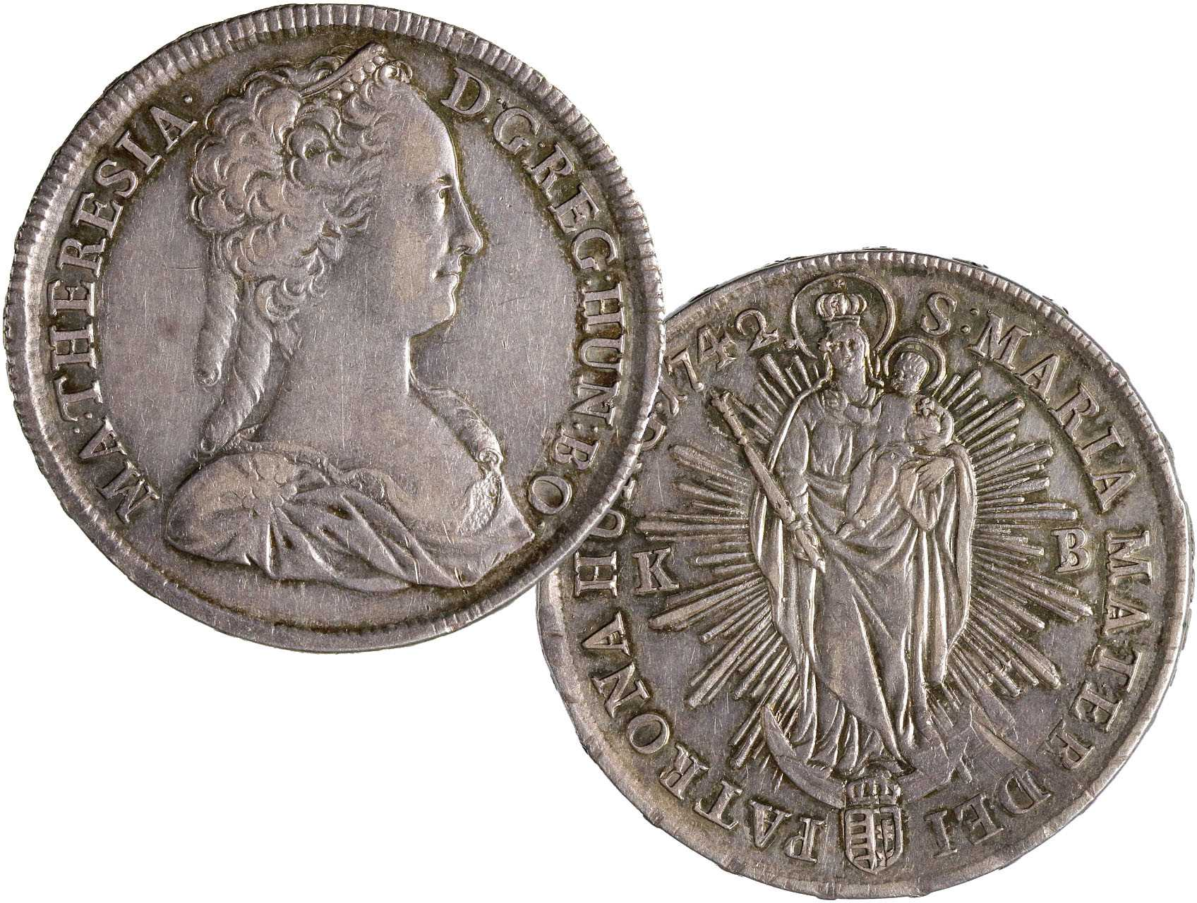 Marie Terezie 1740-1780 - Tolar 1742 KB, Husz. 1667, N99