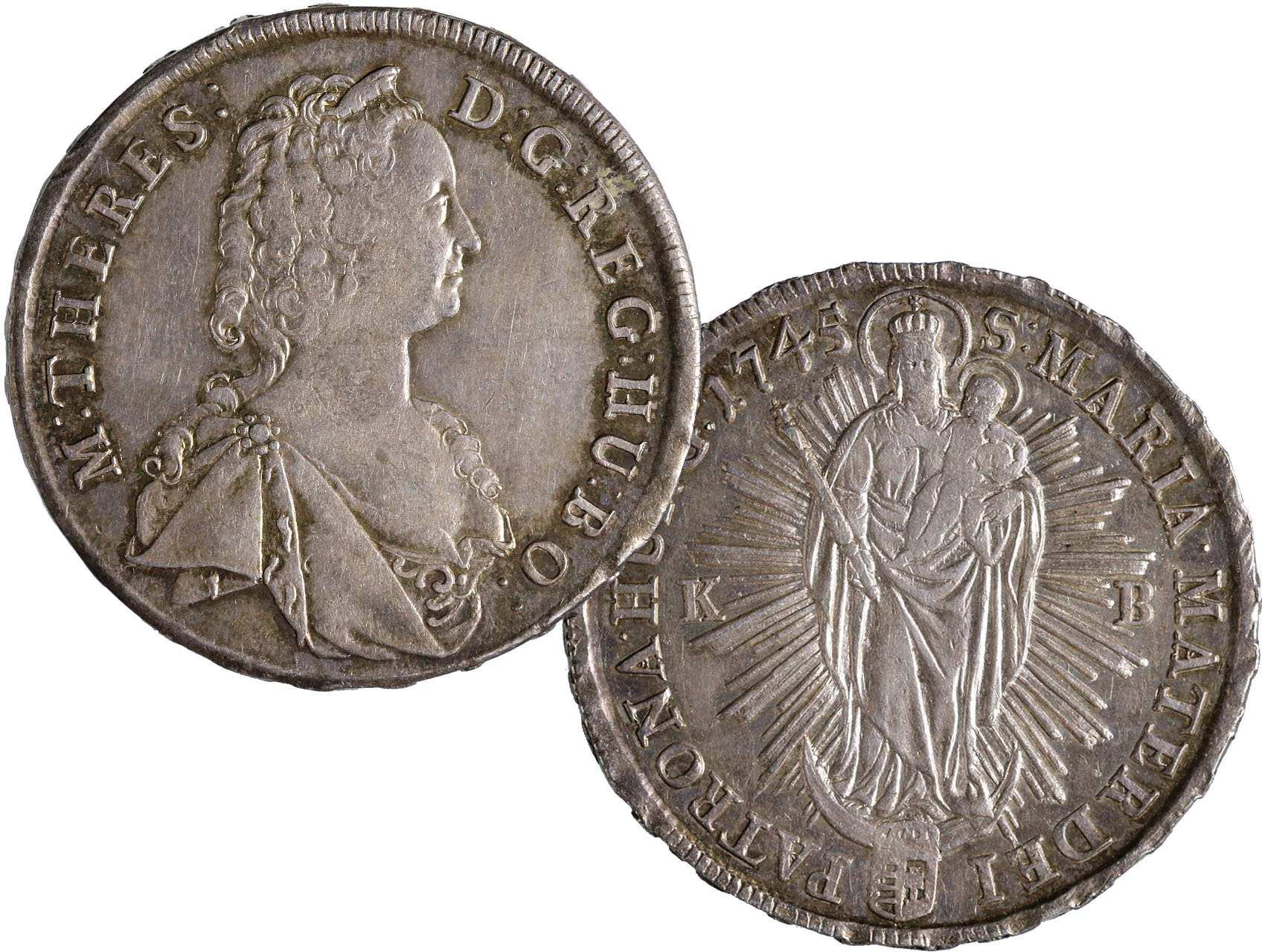 Marie Terezie 1740-1780 - Tolar 1745 KB, N99