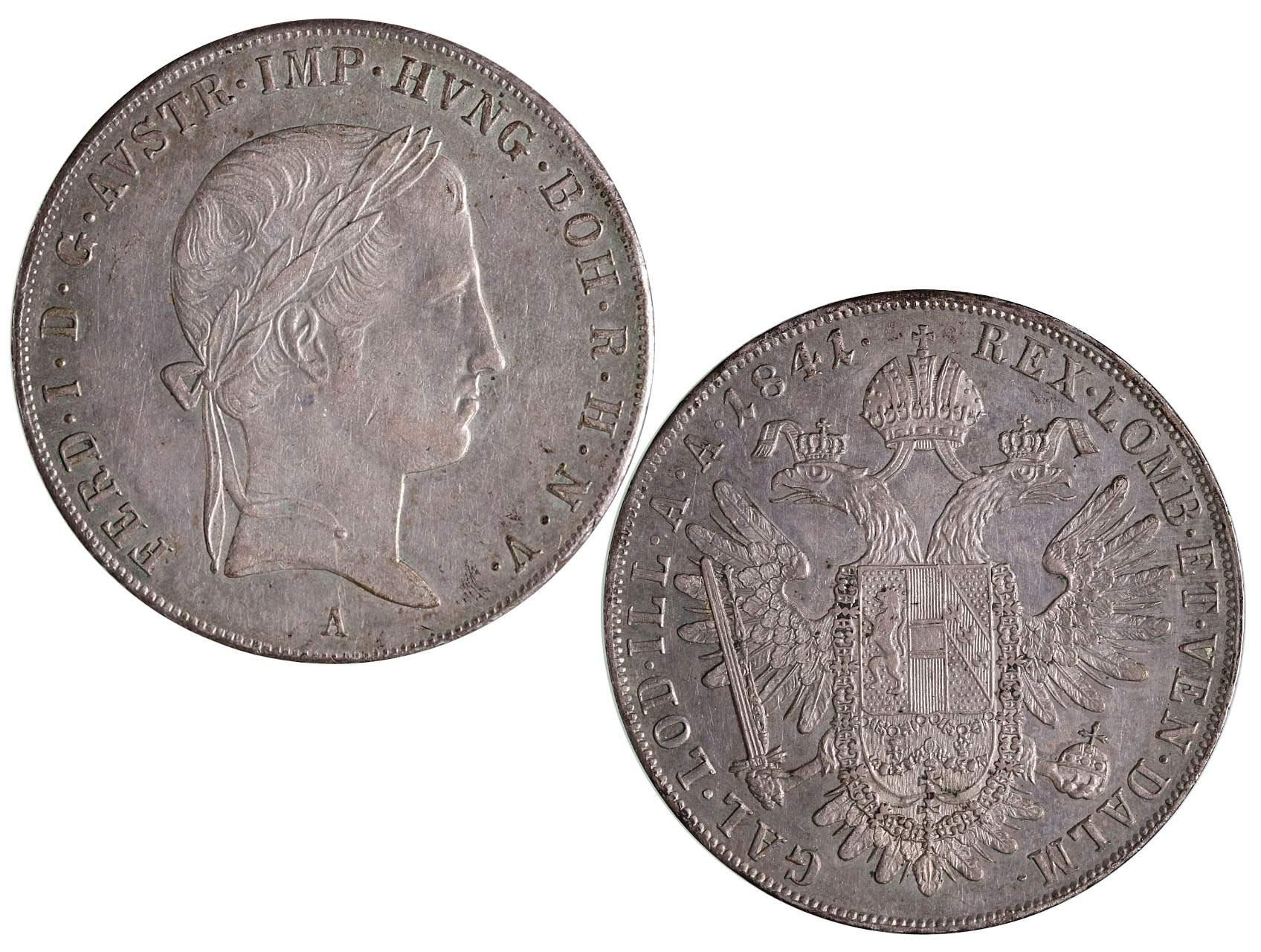 Ferdinand V 1835-1848 - Tolar 1841 A