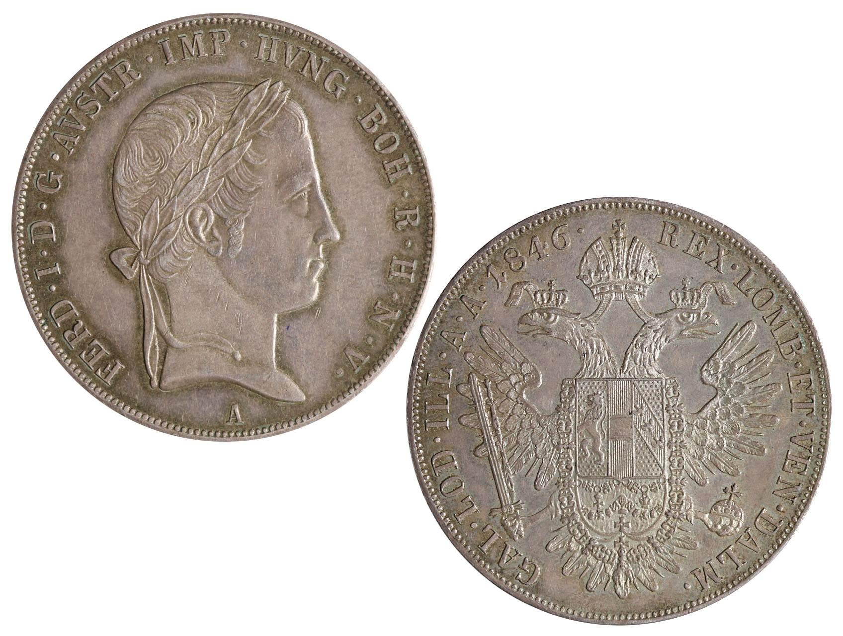 Ferdinand V 1835-1848 - Tolar 1846 A