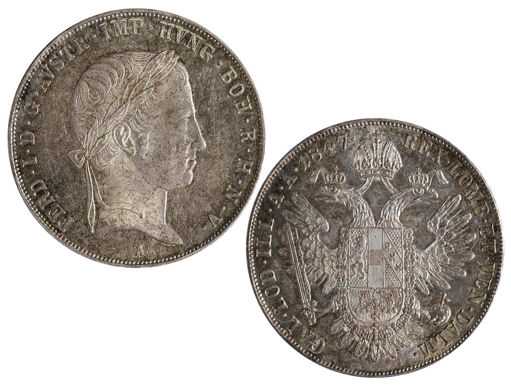 Ferdinand V 1835-1848 - Tolar 1847 A
