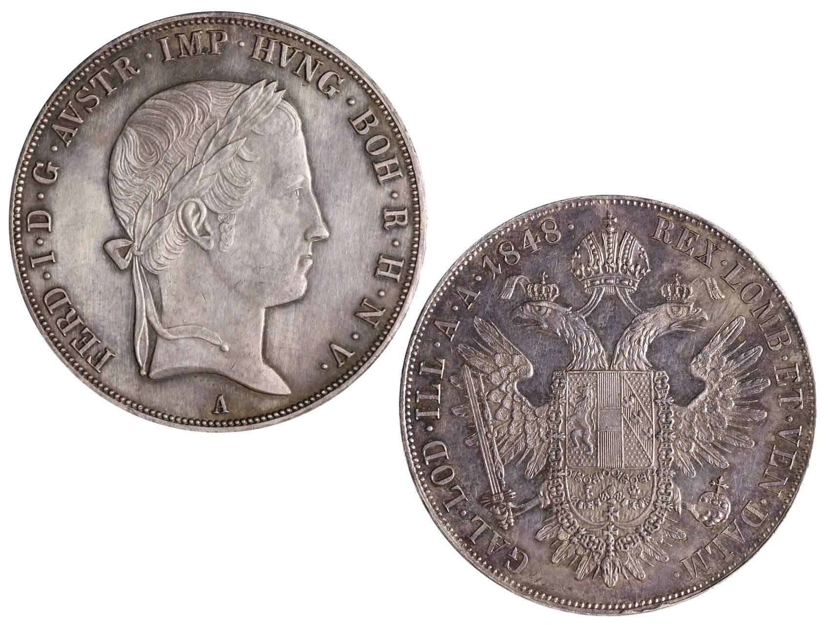 Ferdinand V 1835-1848 - Tolar 1848 A