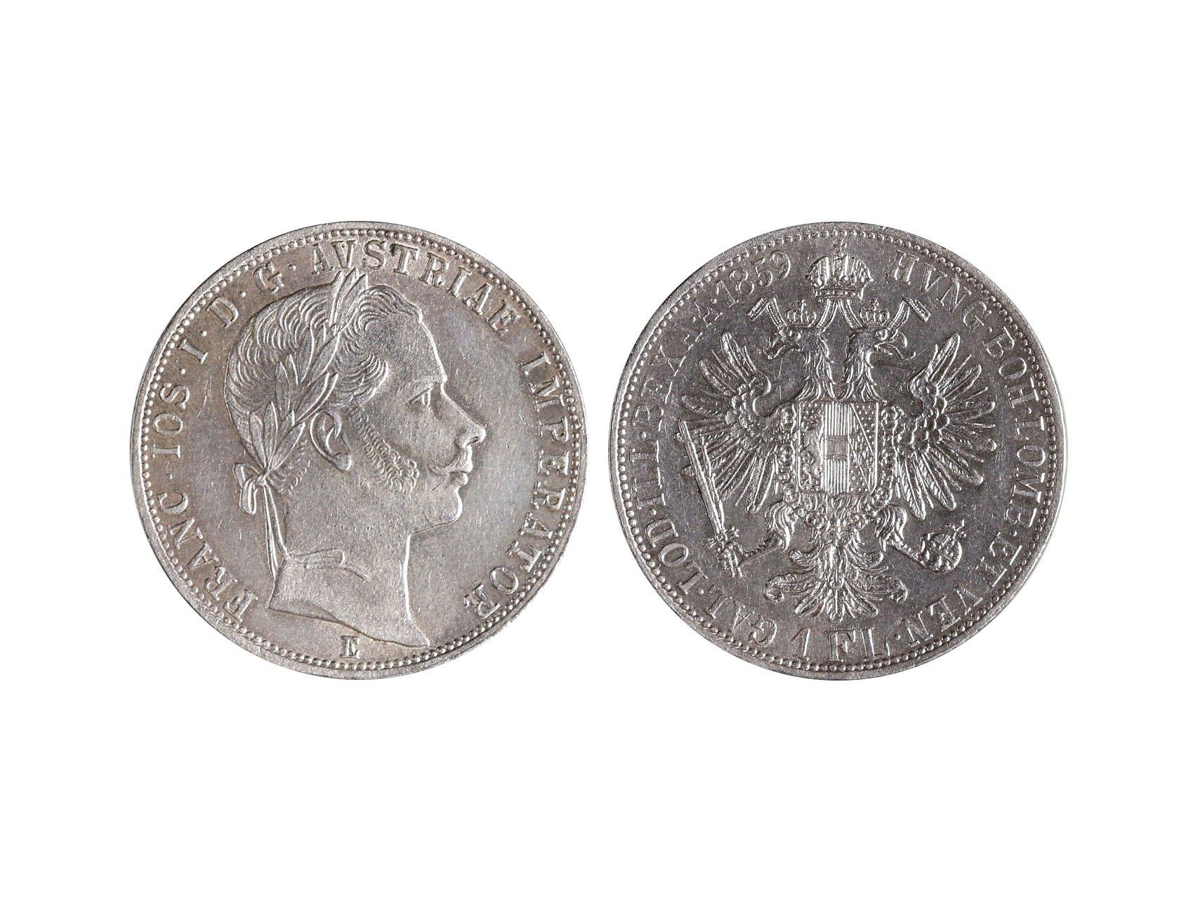 František Josef I. 1848-1916 - 1 Zlatník 1859 E, N39