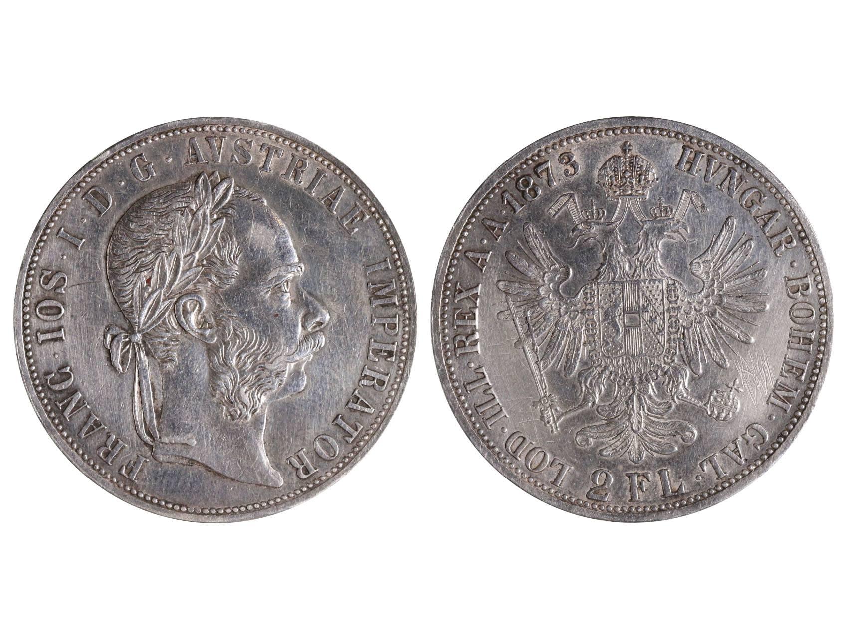 František Josef I. 1848-1916 - 2 Zlatník 1873, N51