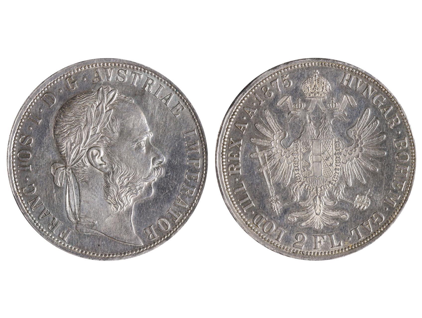 František Josef I. 1848-1916 - 2 Zlatník 1875, N51