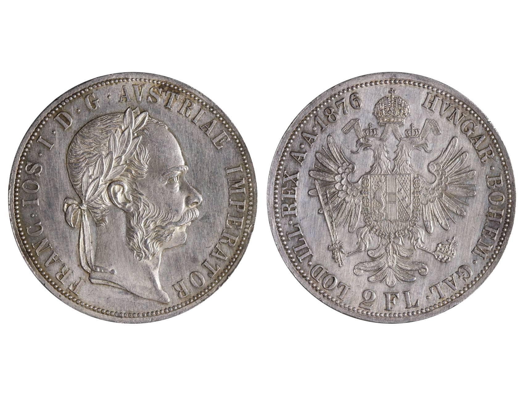 František Josef I. 1848-1916 - 2 Zlatník 1876, N51