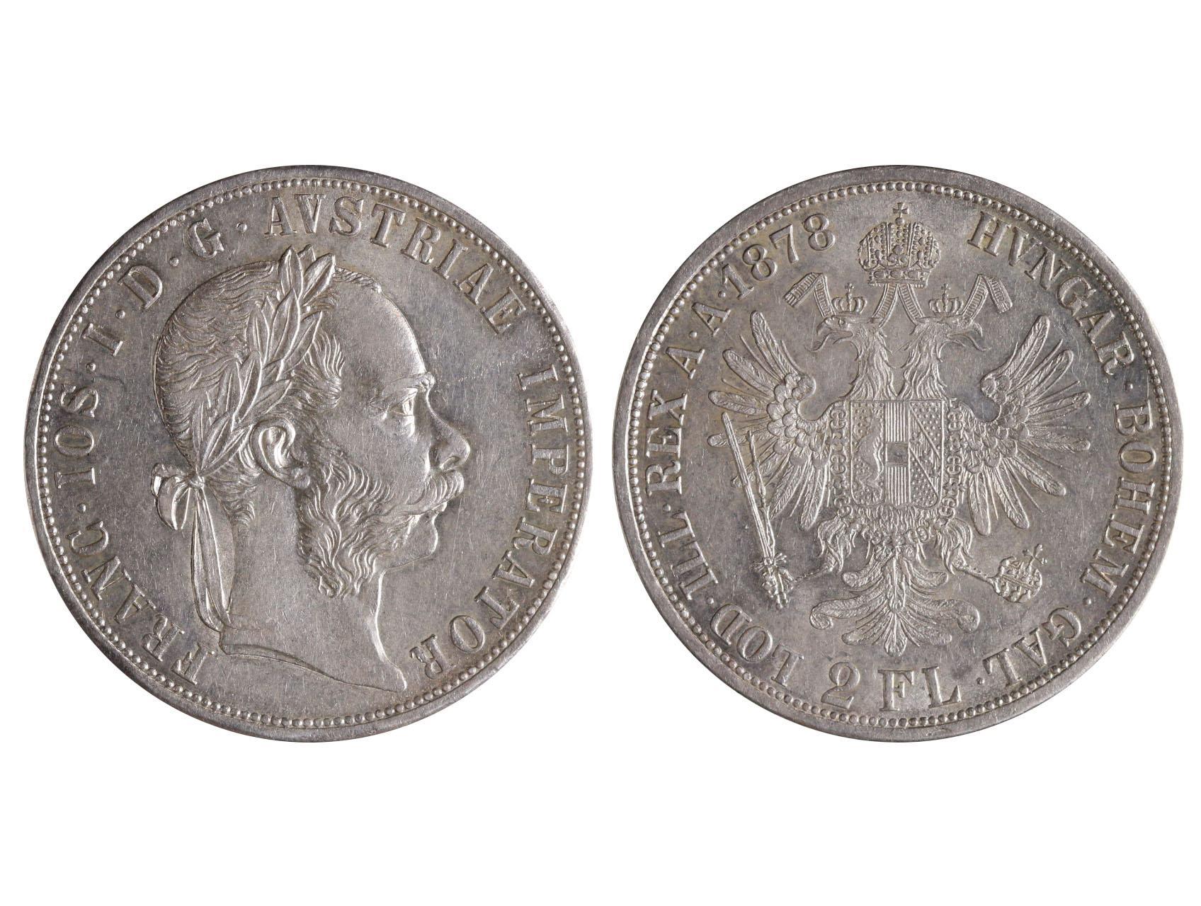 František Josef I. 1848-1916 - 2 Zlatník 1878, N51
