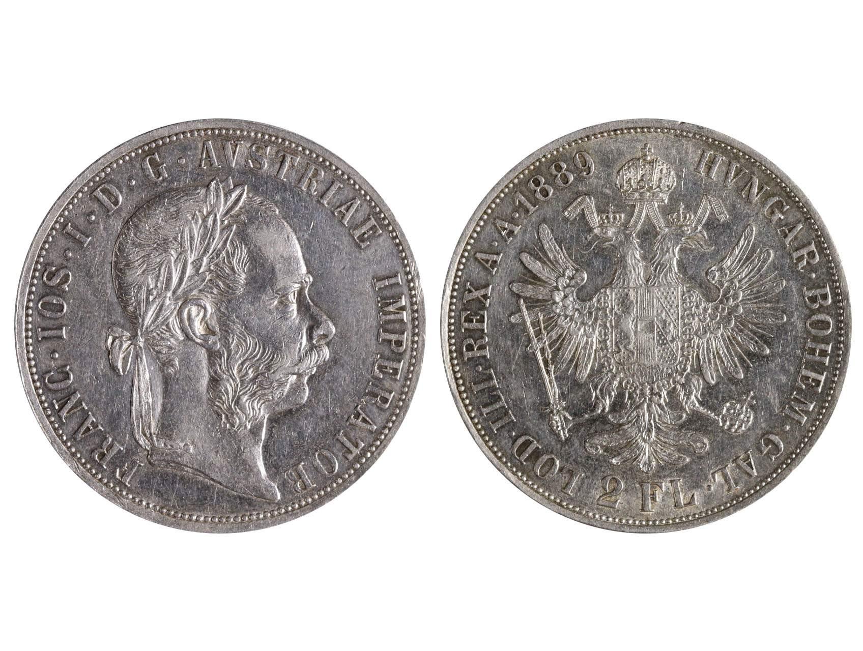 František Josef I. 1848-1916 - 2 Zlatník 1889, N51
