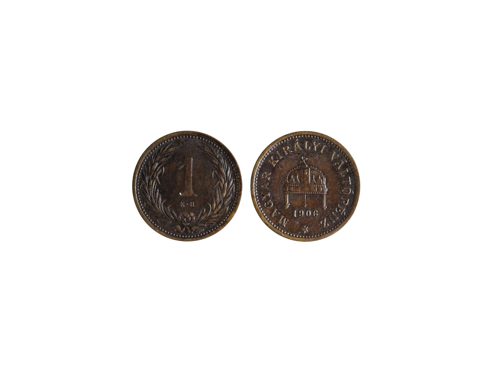František Josef I. 1848-1916 - 1 Filler 1906, nízký náklad