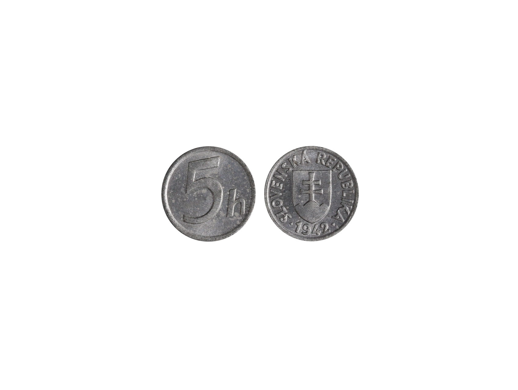 Slovenská Republika 1939-1945 - 5 Haléř 1942, N24