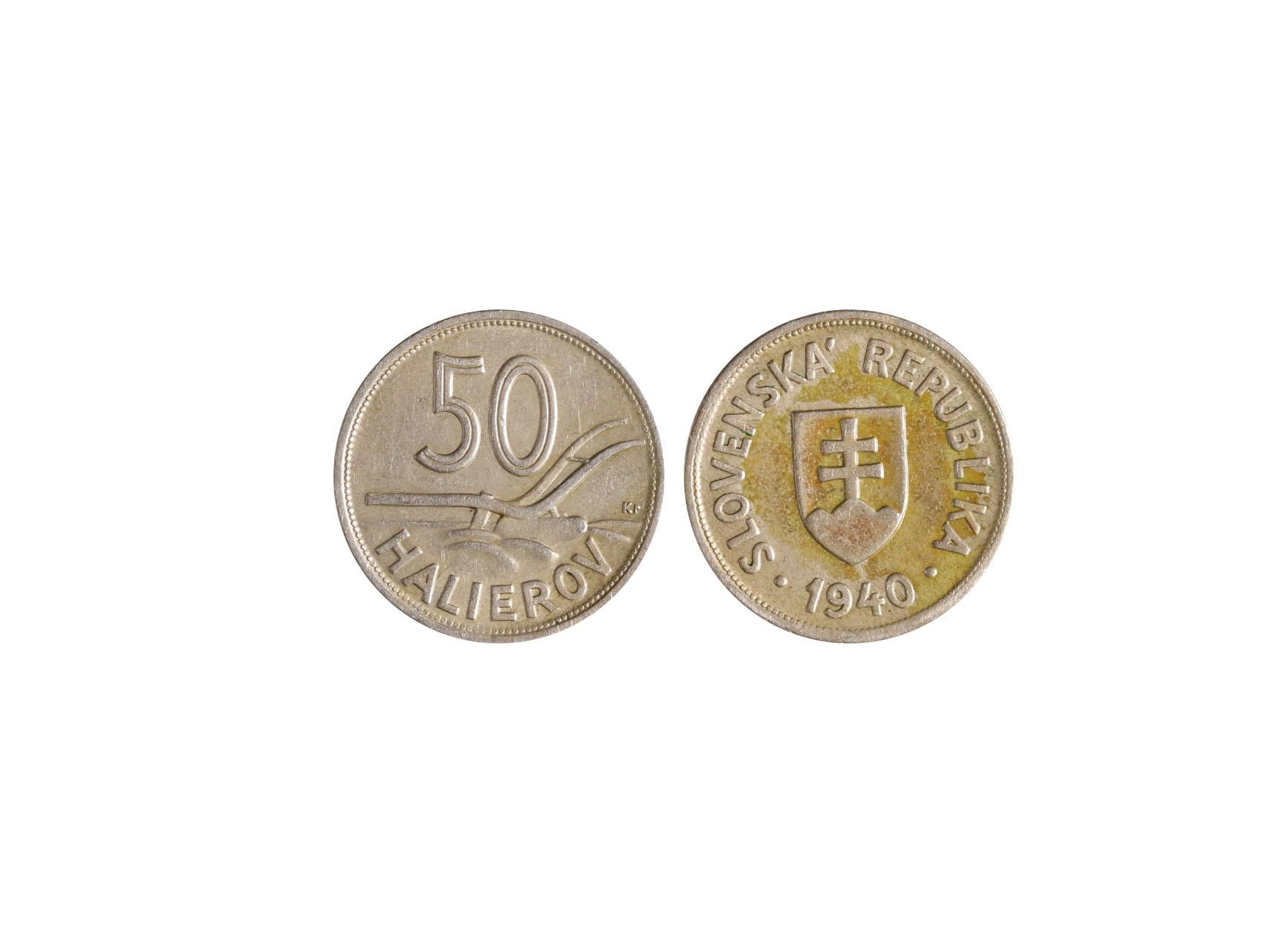 Slovenská Republika 1939-1945 - 50 Haléř 1940, N28